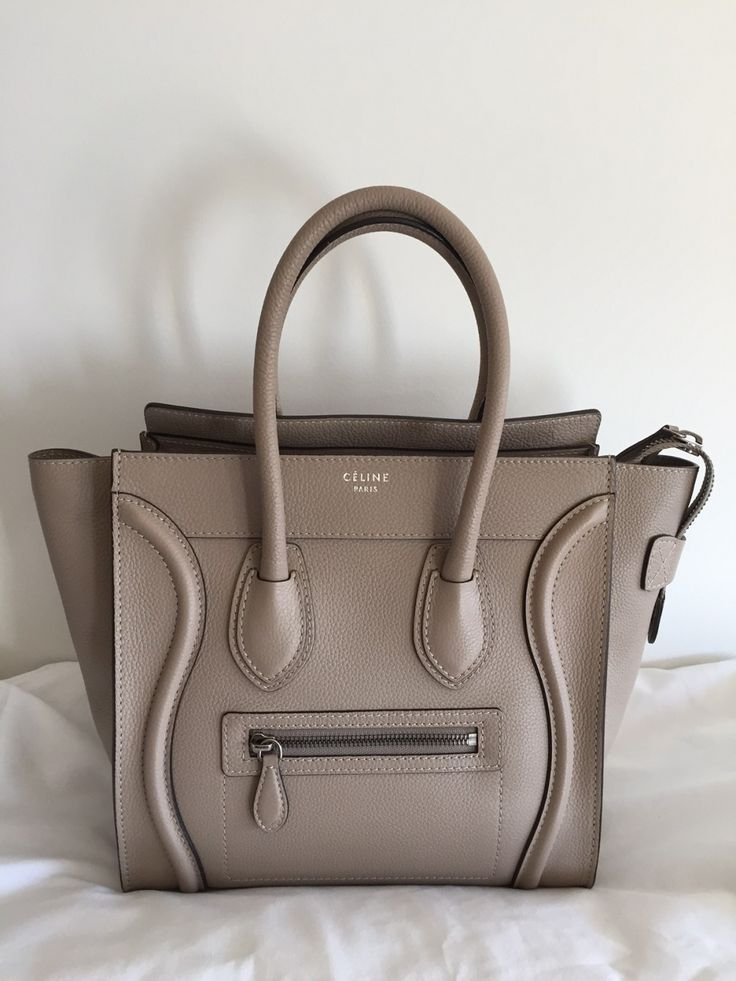 Celine Dune Micro Luggage Tote. Selling it for a great price because it was used...