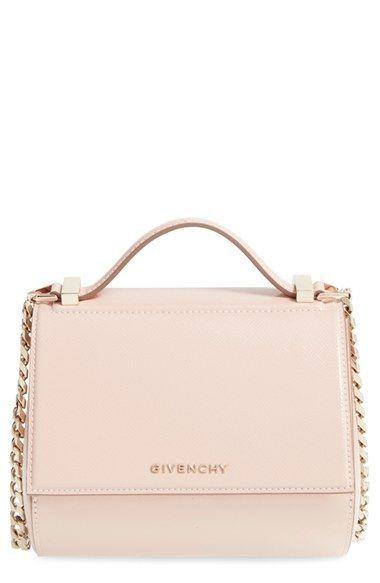 Givenchy 'Mini Pandora Box' Leather Shoulder Bag available at #Nordstrom