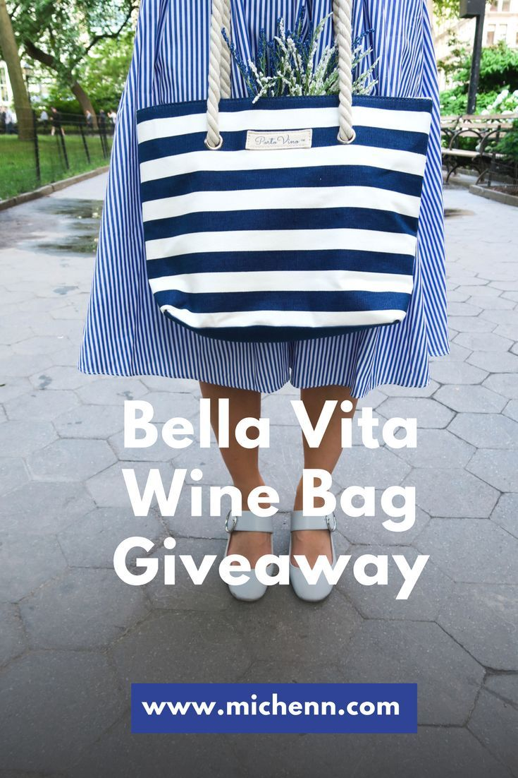 Bella Vita Wine Bag Giveaway!