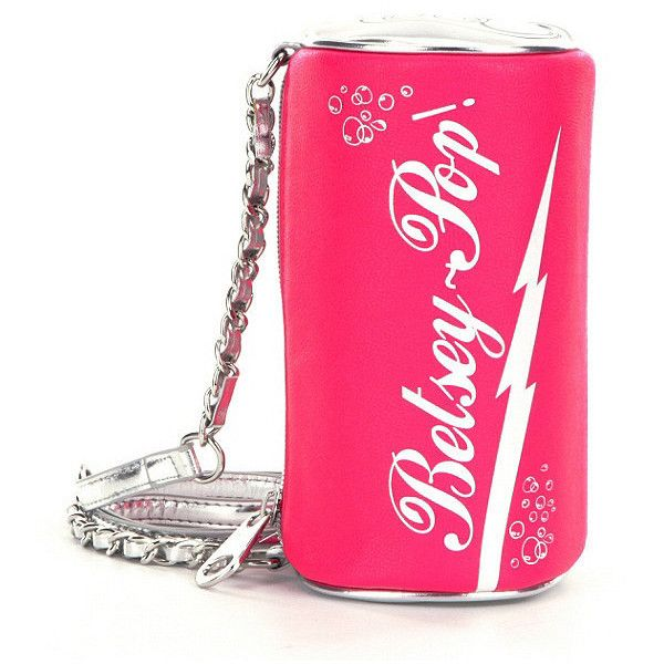 Betsey Johnson Soda Cross-Body Bag (1,040 MXN) ❤ liked on Polyvore featuring...