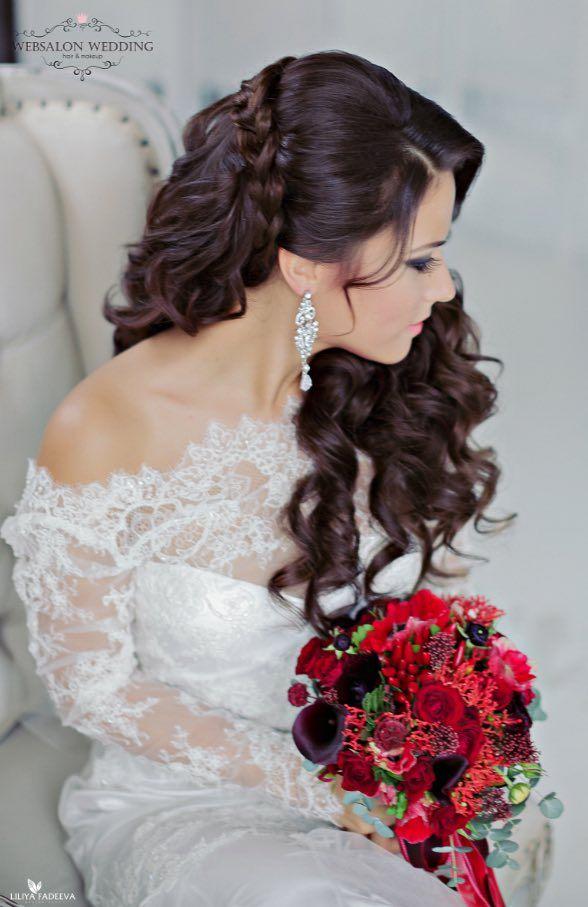 Wedding Hairstyle Inspiration - Anna Komarova Hair & Makeup School