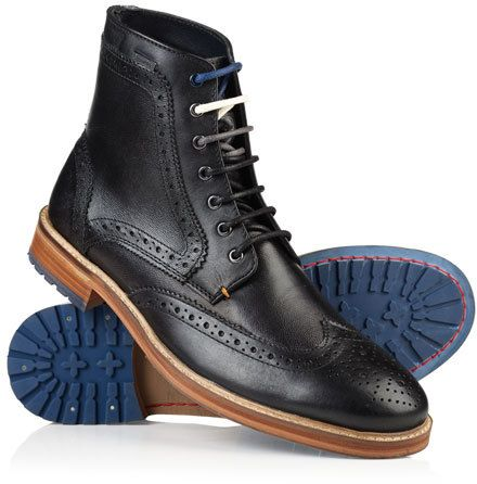 Shooter Leather Boots $99.50