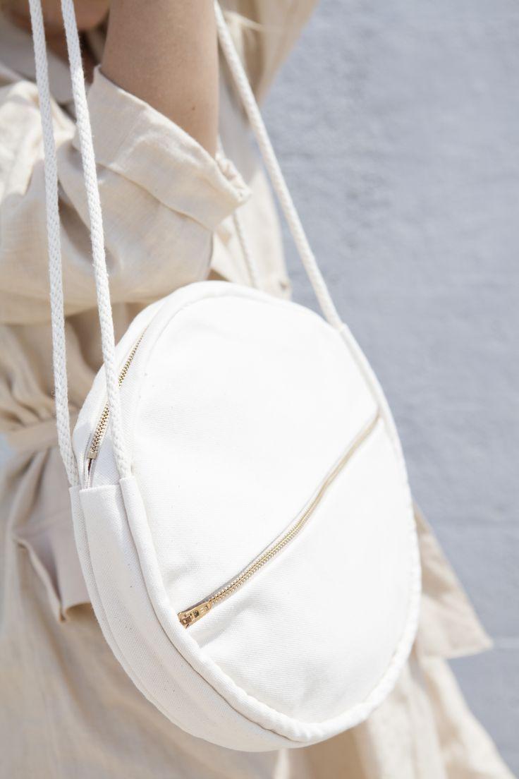 Lotfi Bags - Round cotton canvas bag