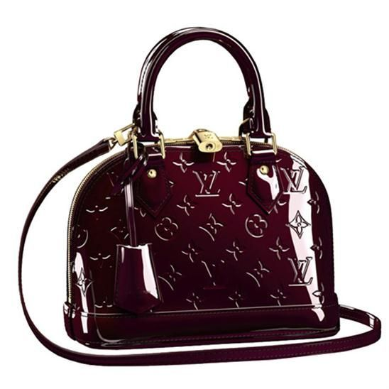 Louis Vuitton M91678 Alma BB Amarante