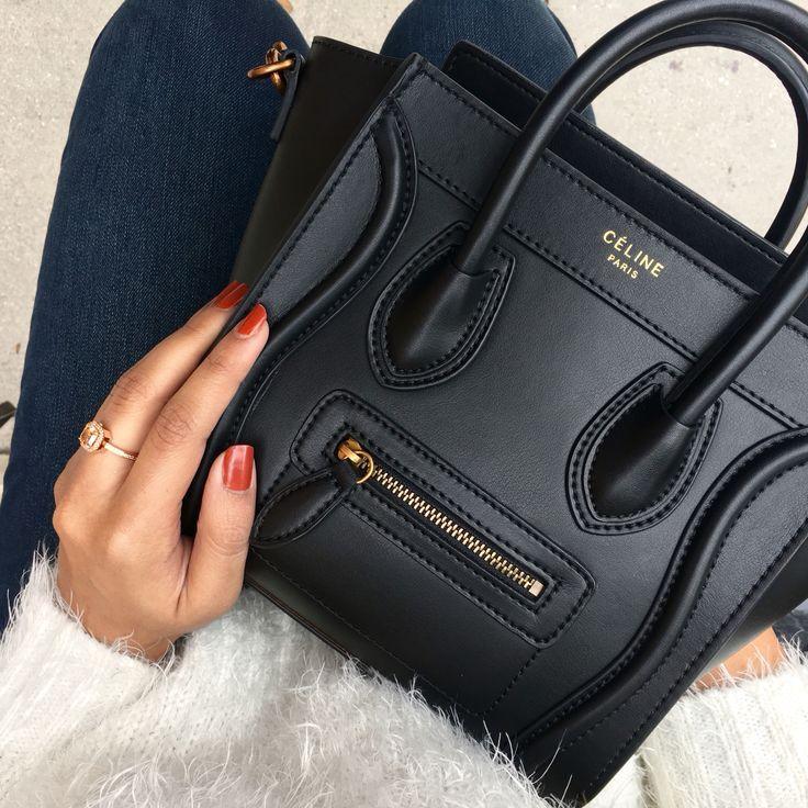 Celine Nano Luggage Bag handbags wallets - amzn.to/2ha3MFe