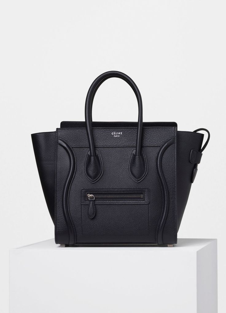 Micro Luggage Handbag in Drummed Calfskin - Spring / Summer Collection 2016 | C...