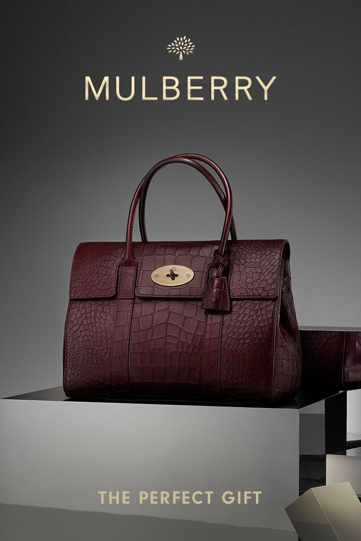 New Arrivals from Mulberry: Croc-embossed leather accessories Clothing, Shoes & ...