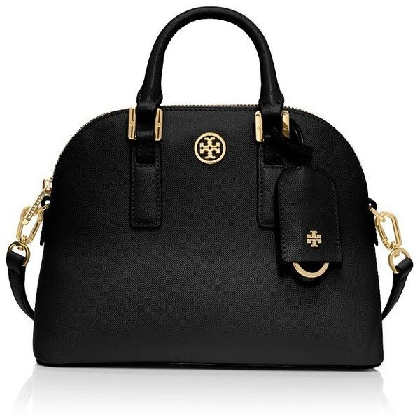 Tory Burch Robinson Mini Dome Satchel found on Polyvore