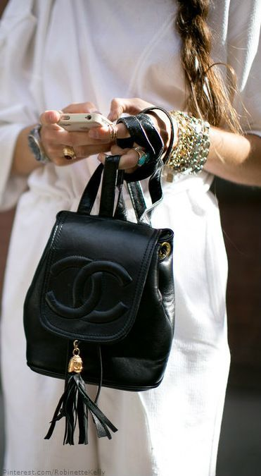 Lust list: A Chanel Backpack | NYFW