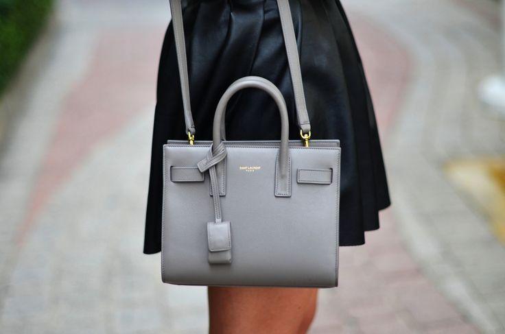 Ysl Grey Bag - ShopStyle