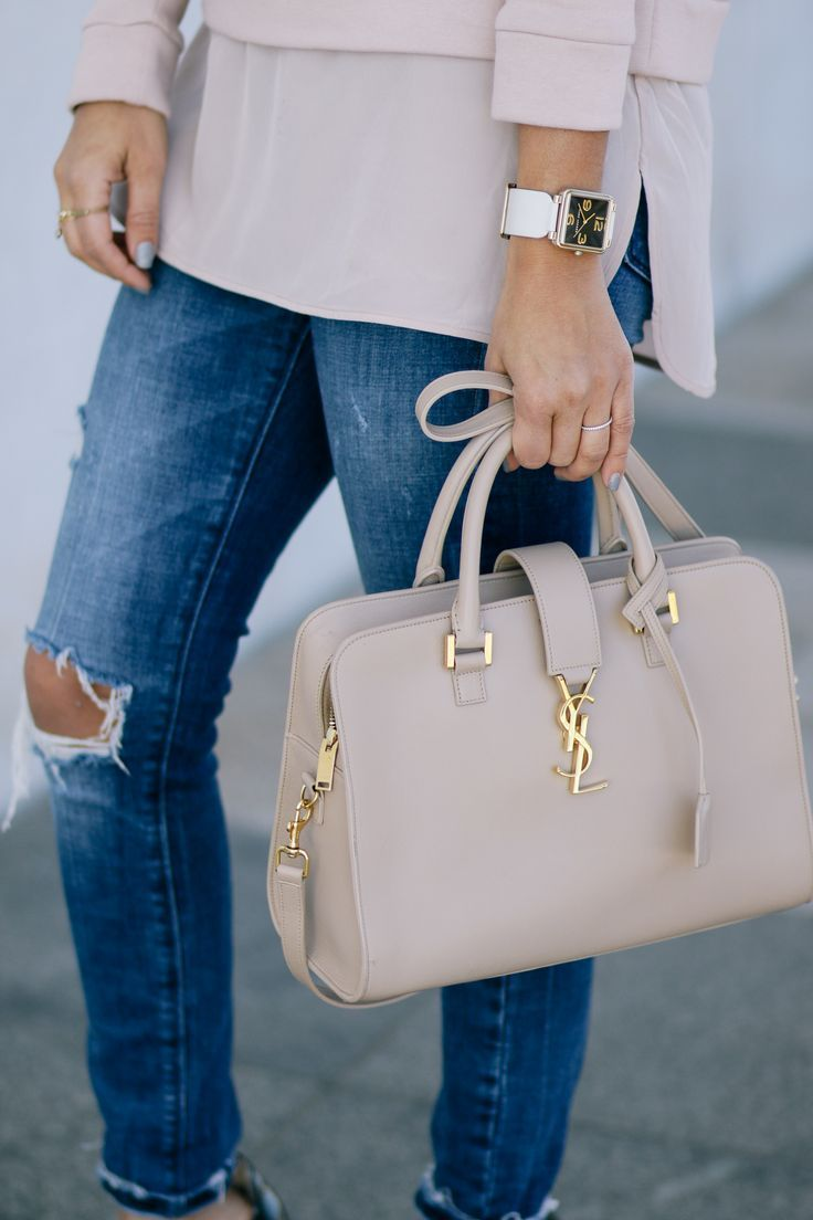 Marc Jacobs Watch and YSL Cabas Tote waysify