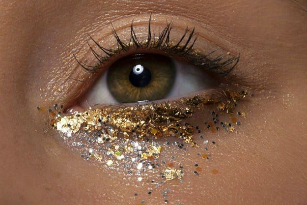 How To Use Glitter Makeup And Not Look Crazy
