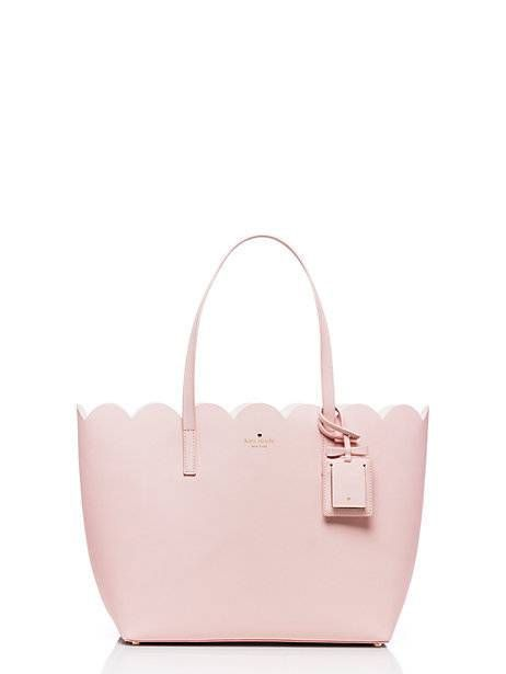 $298 Kate spade...!  LOVE the scallop top edge but would prefer it in a differen...