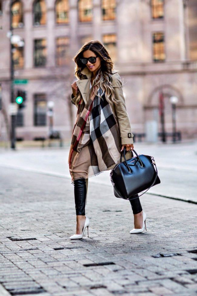The Best Spring Investment Pieces - Burberry Trench  // Burberry Scarf (in 'Ca...