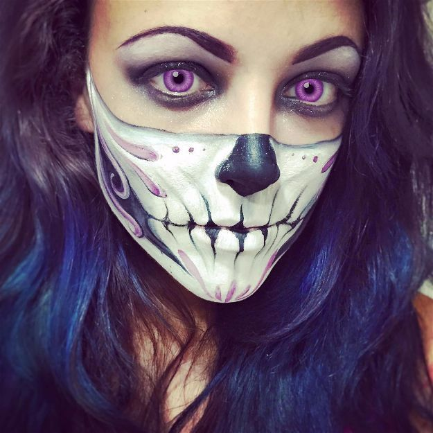 15 Spooky Skeleton Makeup Ideas You Should Wear This Halloween