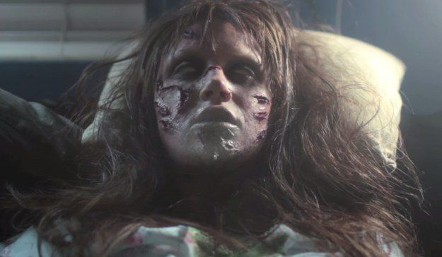 3. The Exorcist   15 DIY Movie-Inspired Makeup Inspirations for Halloween