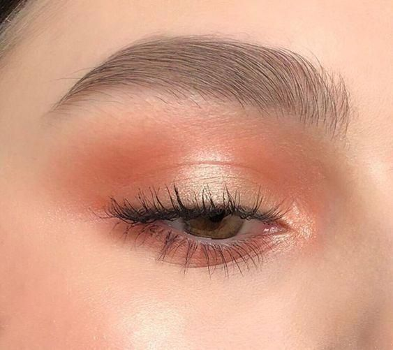 Gorgeous orange makeup look to try #makeupideasnatural