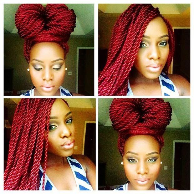 49 Senegalese Twist Hairstyles for Black Women