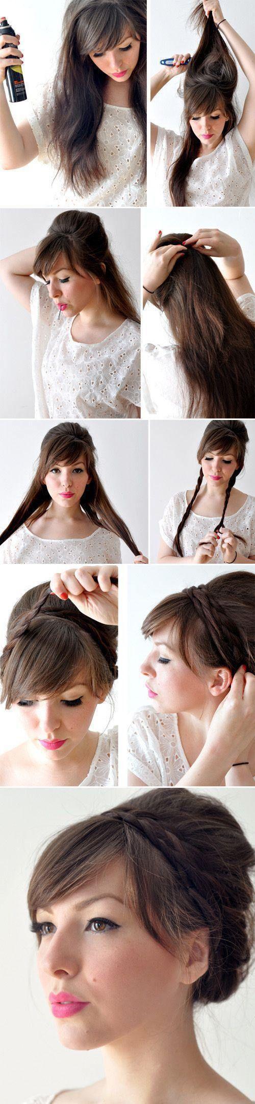 hair ideas for long hair do it yourself | hair styles 3 Do it yourself hairstyle...