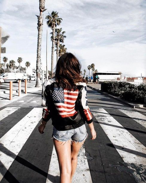 $150 Black Customised USA Red White And Blue Stripe And Star Flag Back Logo Deta...