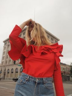 My Favorite Ruffled Tops For Pre-Summer
