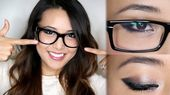 11 Makeup Tips For Women Who Wear Glasses