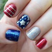 20 Fun 4th Of July Nail Designs To Show Your Love For America