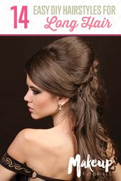 10 Fun And Fab DIY Hairstyles For Long Hair | Makeup Tutorials