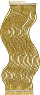 Diamond, Gold Bracelet. ... Estate Jewelry Bracelets   Lot #58012   Heritage Auctions