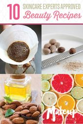 10 Homemade DIY Beauty Recipes | Makeup Tutorials