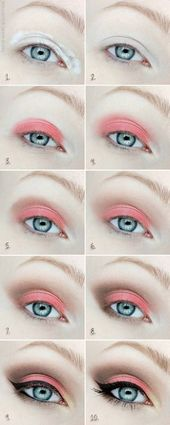 Colorful Eyeshadow Tutorials For Blue Eyes | Makeup Tutorials