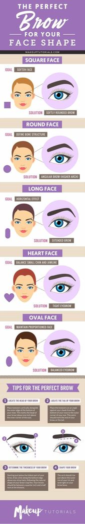 Eyebrow Tutorial | Finding The Right Brow Shape For Your Face