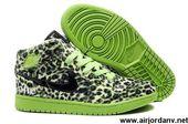 Best Gift Fluff Leopard Black Green Air Jordan 1 (I) Shoes Shop