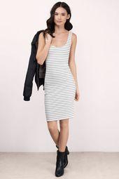 Amy Ribbed Midi Dress