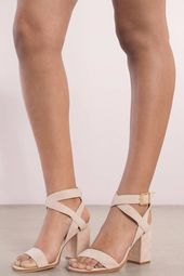 Chinese Laundry Sitara Suede Open Toe Ankle Strap Heel