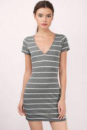 Emili Stripe T-Shirt Dress