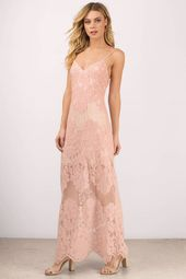 Wanderlust Lace Maxi Dress