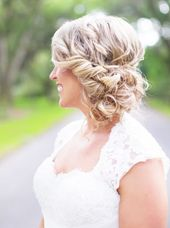 Wedding Hairstyles with Rustically Chic Style - MODwedding