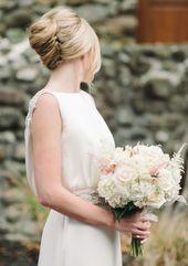Wedding Hairstyles with Chic Elegance - MODwedding