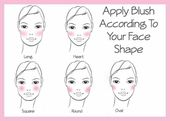 How To Apply Blush Based On Your Face Shape | Makeup Tutorials