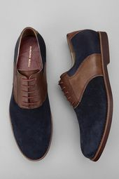Hawkings McGill Mixed Saddle Shoe - Urban Outfitters