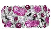 rubies.work/... Cartier; a reinterpretation of their Art Deco classic; rubies, p...