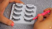 How to Apply Fake Eyelashes Fast & Easy | Makeup Tutorials