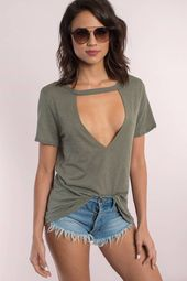Aubree Cut Out Tee