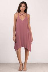 Eden Braided Strap Shift Dress