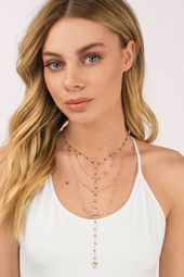 Grace Layered Lariat Necklace
