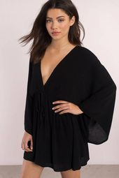 Helene Kimono Sleeve Shift Dress