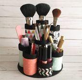 13 Fun DIY Makeup Organizer Ideas For Proper Storage