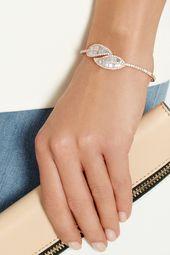 Anita Ko - Leaf 18-karat gold diamond bracelet