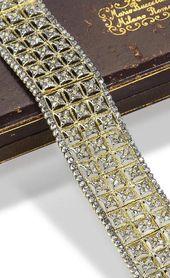 A diamond-set bracelet, by Buccellati, circa 1930.